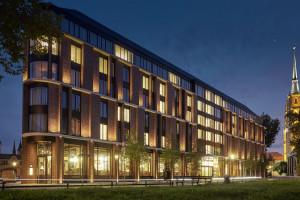 Hotel The Bridge to nowy rozdział w historii najstarszej części Wrocławia. Forum Architekci zaprojektowali bryłę, a wnętrza Medusa Group