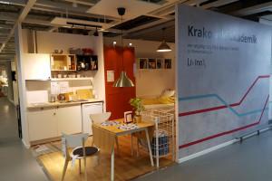 IKEA i LivinnX Kraków łączą siły. Oto showroom krakowskiego akademika