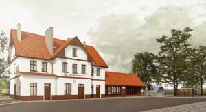 Rusza modernizacja zabytkowego dworca w Suszu