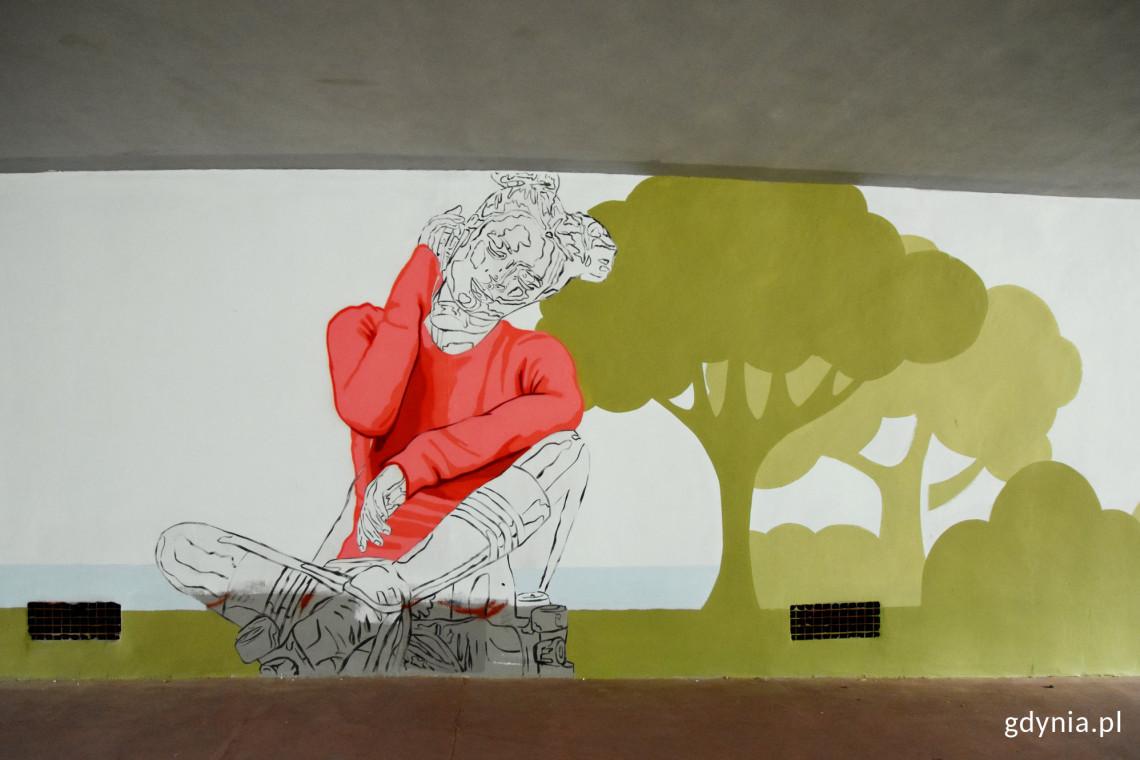 Mural, który łączy