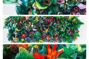 """Artystyczny recykling, czyli wystawa """"Ślad"""" na placu Europejskim"""