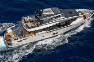 Spokój pośród fal. Projekt luksusowego jachtu od Marty Lowe