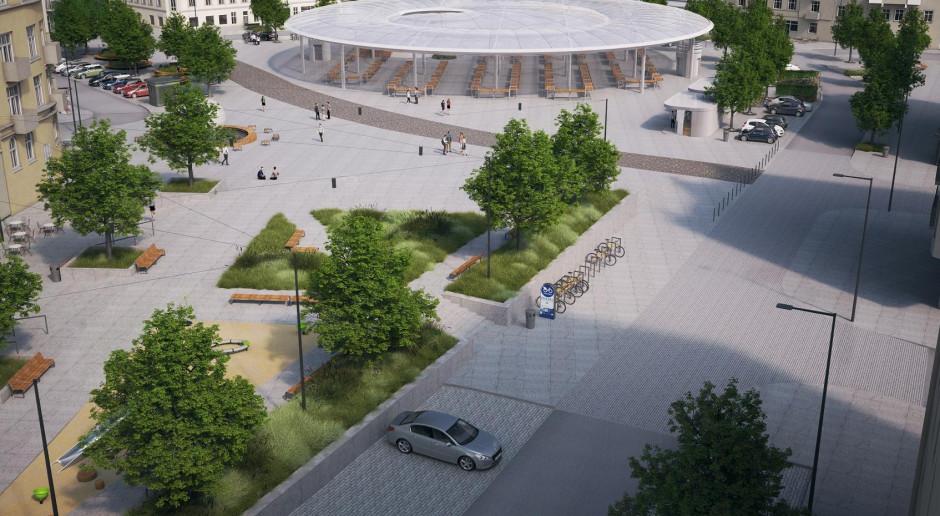 Jest umowa na przebudowę Rynku Łazarskiego w Poznaniu