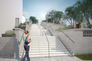 Słynne schody zaprojektowane przez znanego architekta czekają na nową odsłonę
