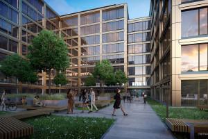 Tak będzie wyglądał najnowszy kompleks biurowy w Krakowie. Dla Grupy Buma projektują BE DDJM Architekci