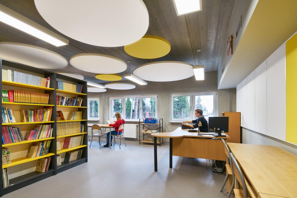 Z myślą o komforcie nauczycieli i uczniów. To Front Architects odmienili poznańską podstawówkę