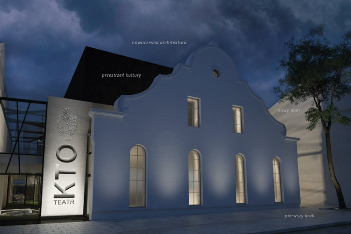 Kraków zyskuje nową scenę teatralną. Powstaje siedziba Teatru KTO