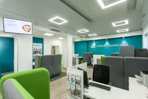 Credit Agricole stworzył koncept wyglądu placówek na podstawie opinii klientów i pracowników