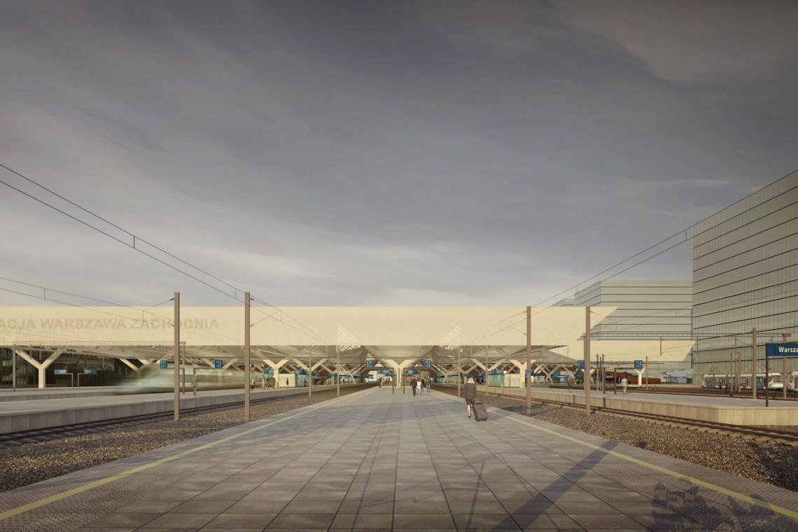 Stacja Warszawa Zachodnia zmieni się. Ogłoszono przetarg na modernizację stacji