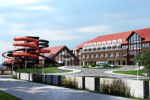 Nowy hotel Radisson Blu Resort w Ostródzie. Będzie miał własną przystań i park wodny