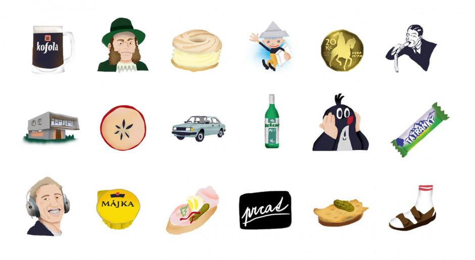 Designerka zaprojektowała nowe emotikonki. Z myślą o typowym Czechu