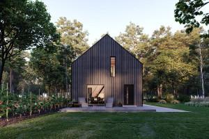 Dom tani, mały i szybki w budowie potrzebny od zaraz. Modulo House wychodzi naprzeciw współczesnym problemom