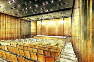 Zabytkowy Stary Teatr Muzeum Auschwitz oddany do użytku. To projekt Grupy 5 Architekci