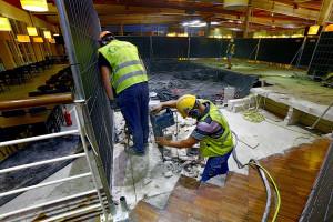W najlepsze trwa renowacja łódzkiej Manufaktury