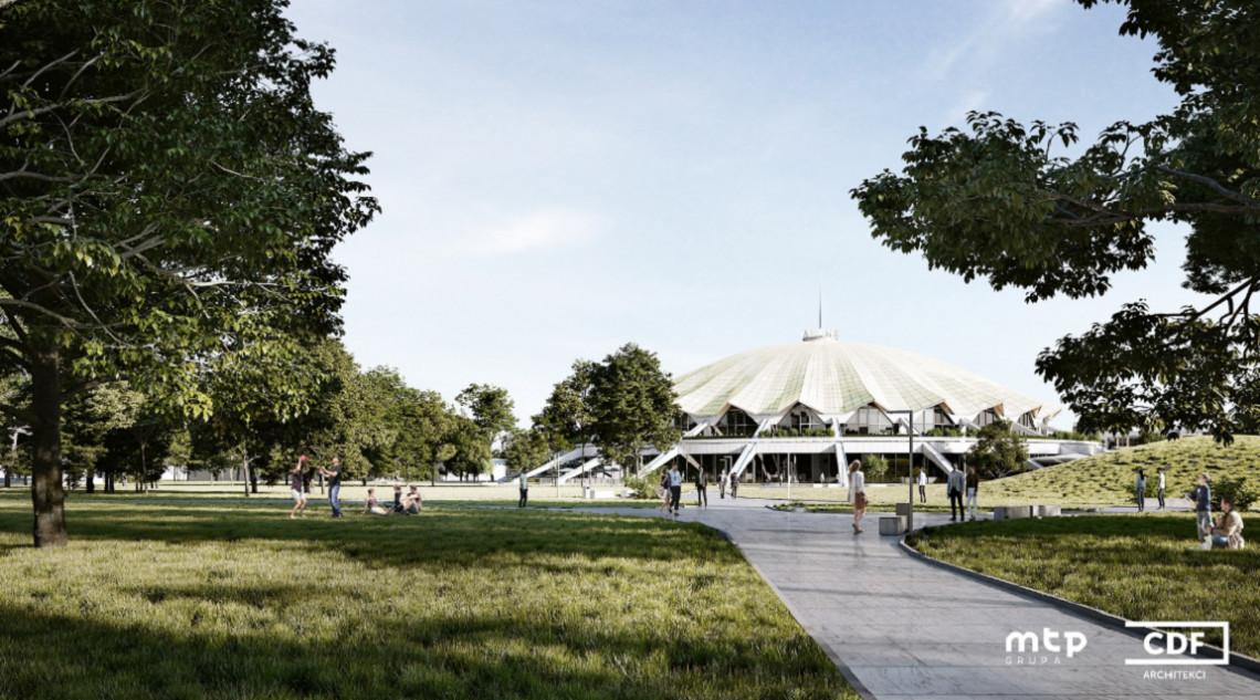 Tak będzie wyglądać poznańska hala Arena. Projekt CDF Architekci robi wrażenie