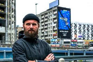 Nowy mural w centrum Warszawy