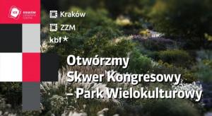 Lada dzień otwarcie Skweru Kongresowego w Krakowie
