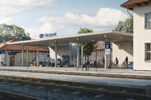 Rozpoczyna się modernizacja dworca w Olsztynku