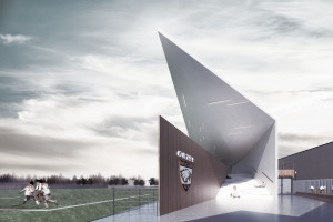 """Stadion """"skrojony"""" na miarę lokalnych potrzeb. Koncepcja New Architekci okazała się najlepsza w konkursie"""