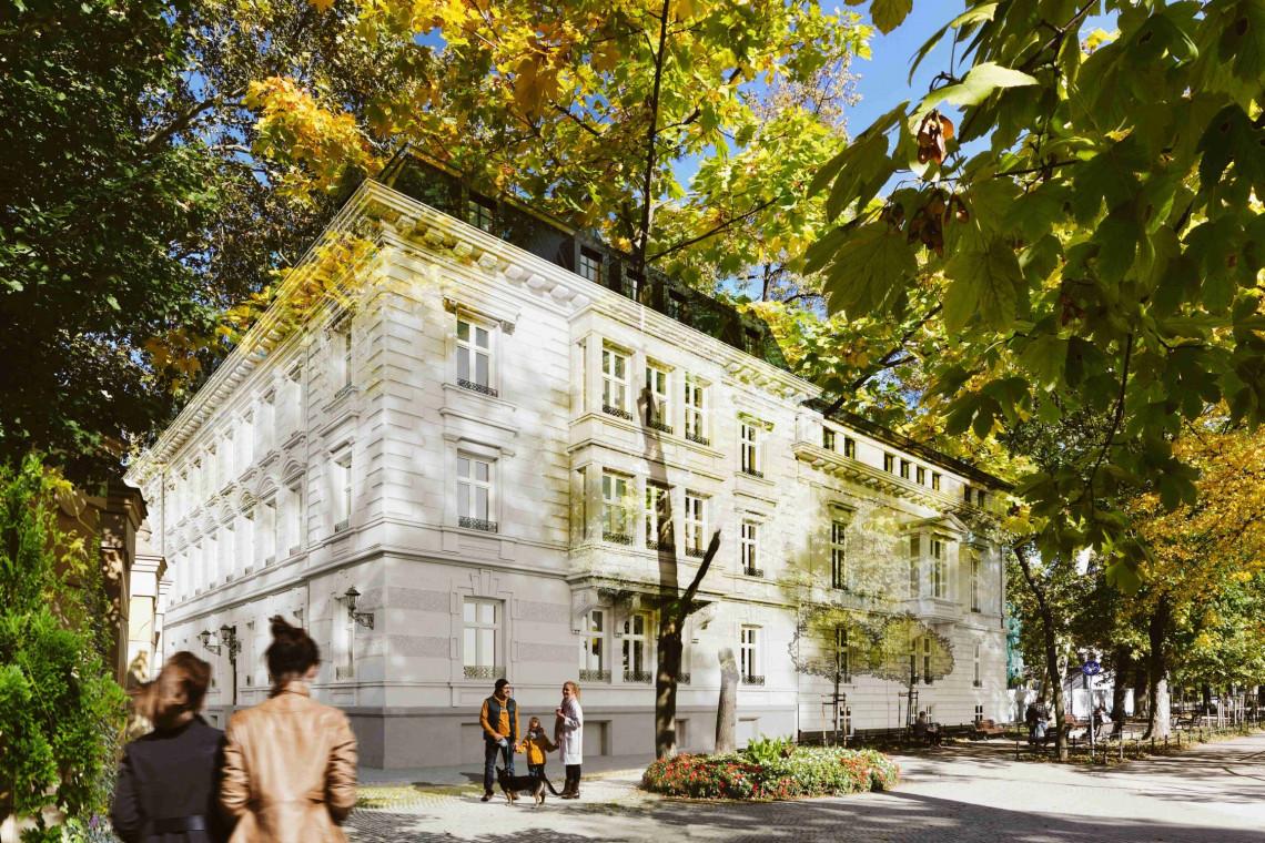 Dawny pałac zmienia się w luksusowy hotel Altus Palace. Wrocławska inwestycja Torus projektu Archicon już z wiechą!