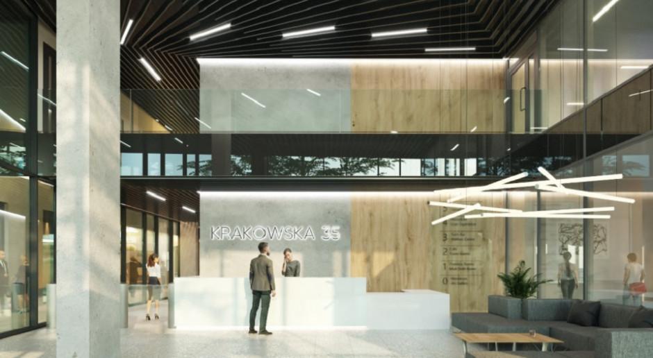 Kuryłowicz&Associates z kolejną biurową bryłą. Oto inwestycja Krakowska 35