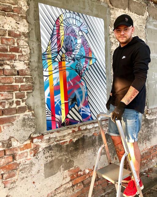 Zrewitalizowana fabryka pianin i fortepianów tłem dla artystycznych murali