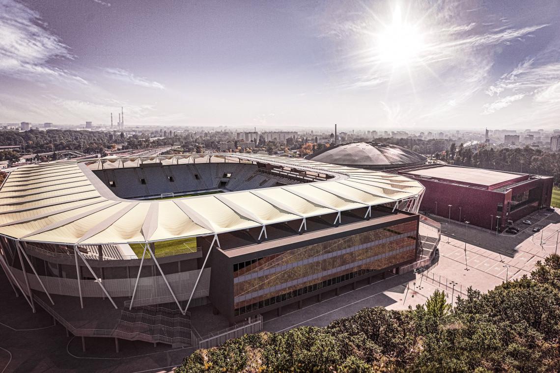 Tak będzie wyglądał stadion ŁKS Łódź