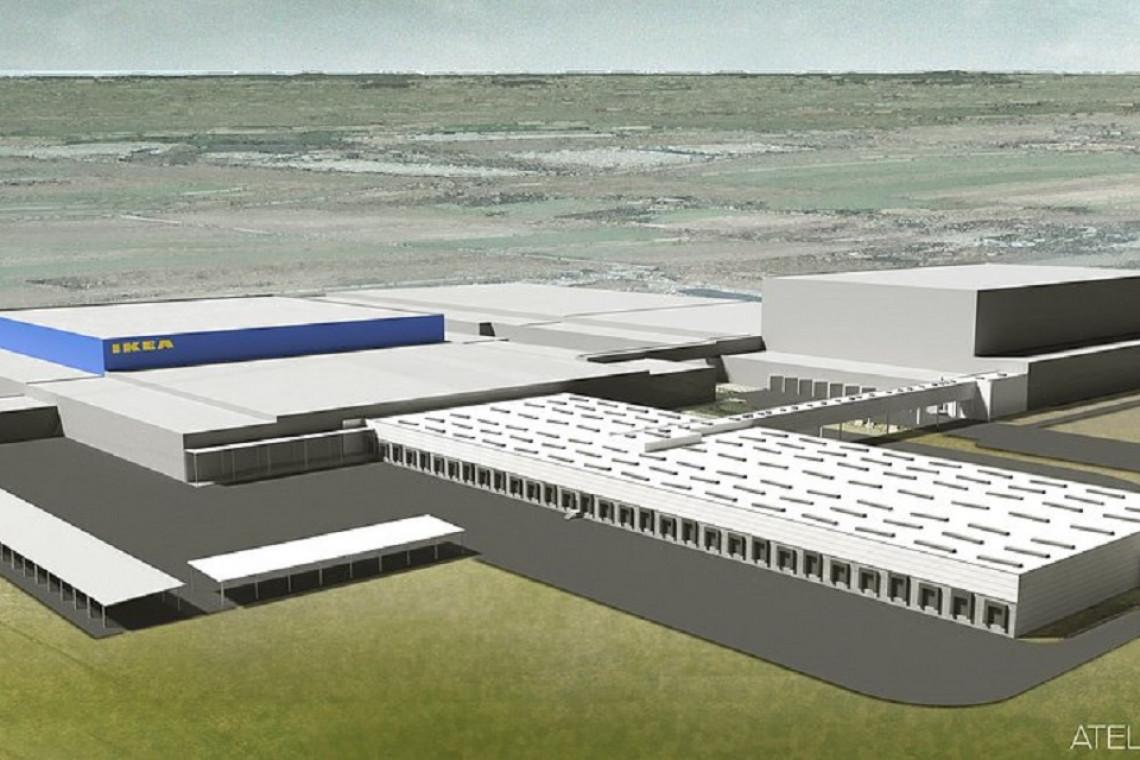 Rośnie Centrum Dystrybucji IKEA w Jarostach. Będzie ekologicznie