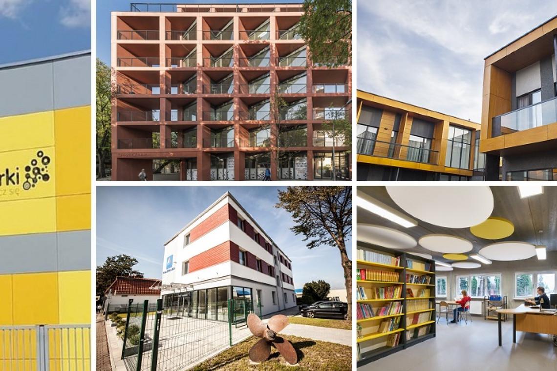 Oto przyszłość budownictwa. TOP 5 obiektów z prefabrykatów i modułów, które walczą w konkursie 4Buildings Awards