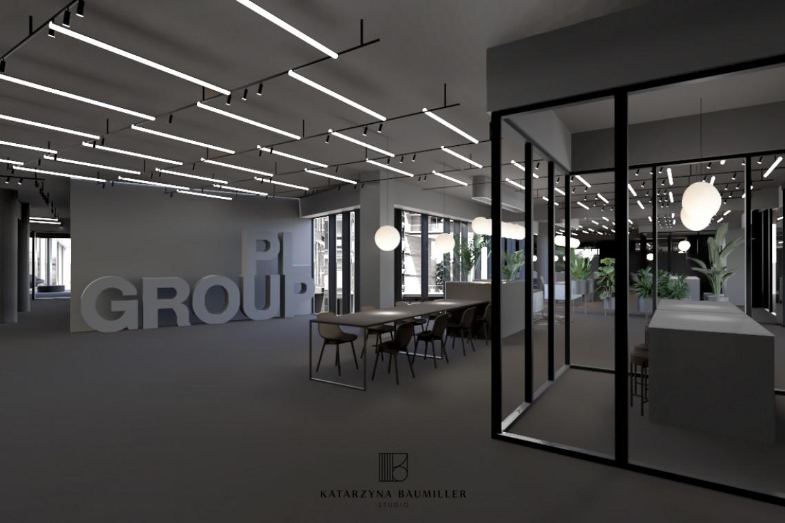 PL Group z nowym centrum biznesowym. Wnętrze to dzieło Katarzyna Baumiller Studio