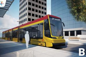 Wybierz, jak będzie wyglądał nowy tramwaj dla Warszawy