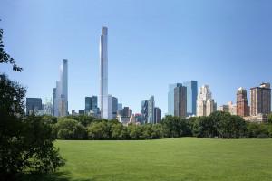 Wyrósł tuż przy Central Parku. Oto najwyższy wieżowiec mieszkalny na świecie