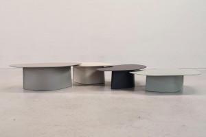 Oskar Zięta z nowym projektem. Tym razem zaprojektował serię stołów