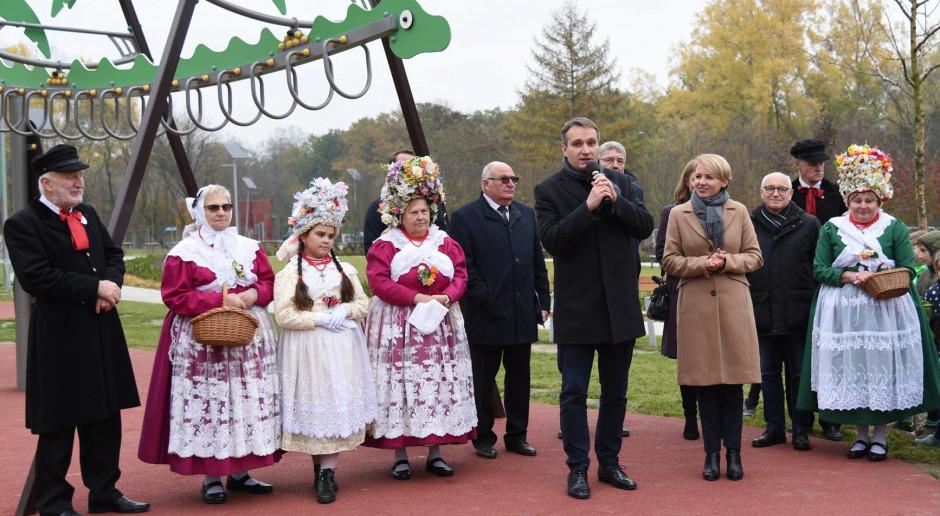Park Bambrów Poznańskich oficjalnie otwarty