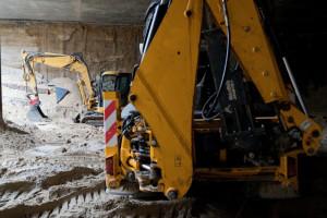 Budowa warszawskiego metra… zeszła pod ziemię