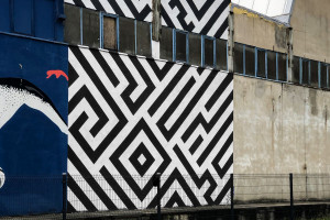 Nowy mural zyskała Fabryka Porcelany w Katowicach