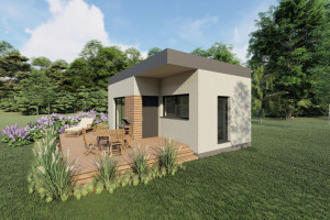 Wood Core House w dwa dni zbuduje dom na 4Buildings