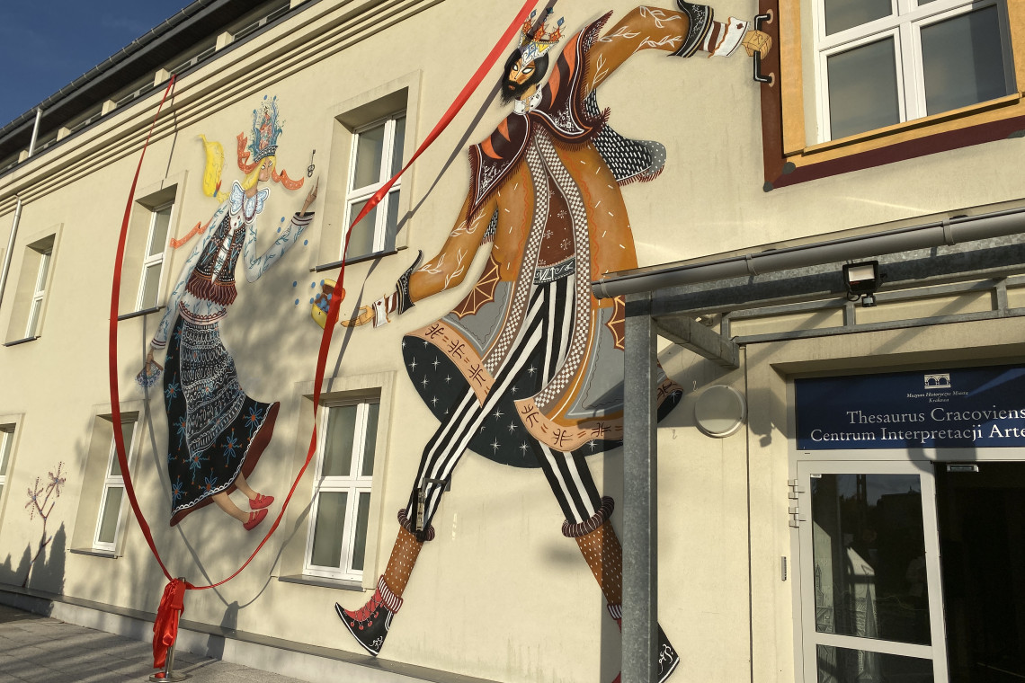 """Muzeum Krakowa z nowym """"legendarnym"""" muralem"""