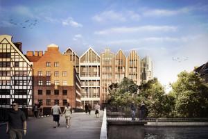 Zainspirowany starymi spichlerzami - zobacz nowy 4-gwiazdkowy hotel w Gdańsku