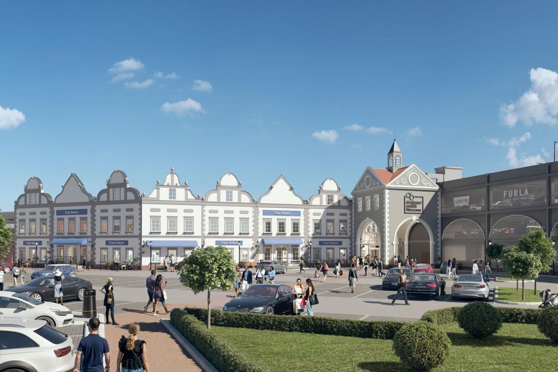 Chapman Taylor odmieni Designer Outlet Warszawa. W planach więcej przestrzeni handlowej i parkingowej