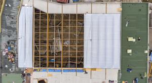 Trwa budowa łódzkiego Orientarium. Dach będzie ze specjalnej membrany