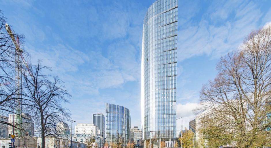 Kolejny etap Mennica Legacy Tower zakończony! Budynek Zachodni gotowy do użytku