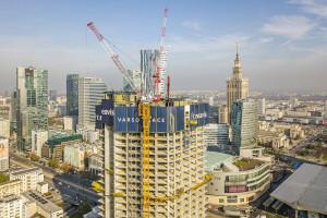 Varso Tower przekroczyła wysokość 29. piętra! Zaglądamy na budowę