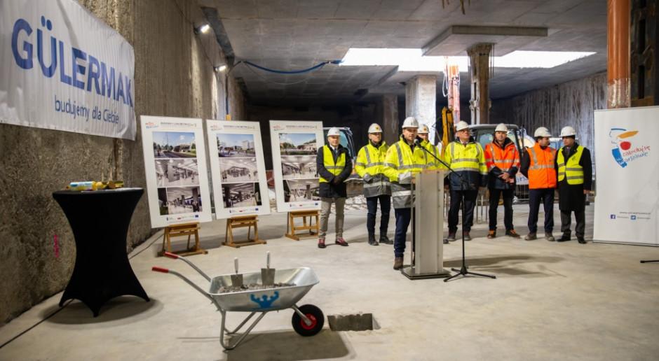 Wmurowano kamień węgielny pod budowę metra na warszawskim Bródnie