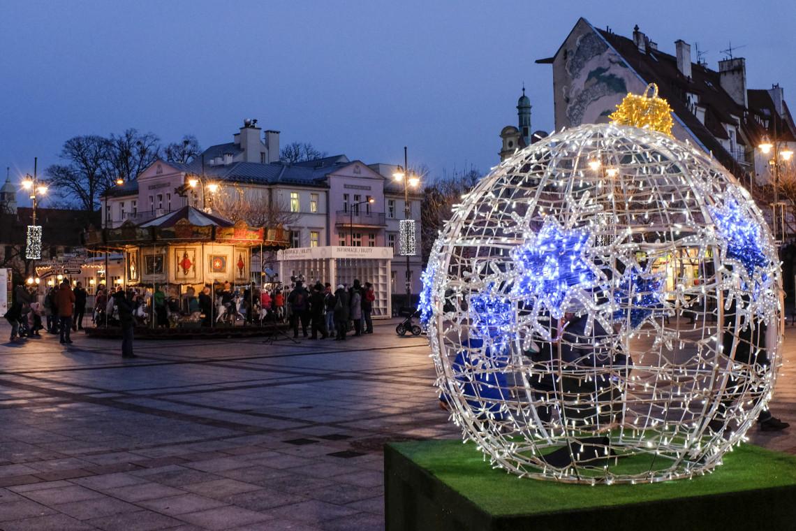 Bajkowe, nowe iluminacje świąteczne w Sopocie