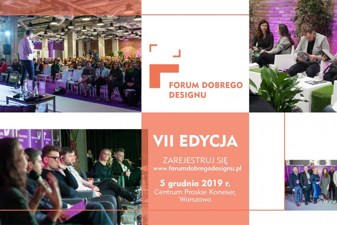 Design, który zbliża - przed nami Forum Dobrego Designu 2019