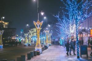 W Warszawie rozbłysła świąteczna iluminacja