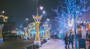 W sobotę Warszawę rozświetli świąteczna iluminacja