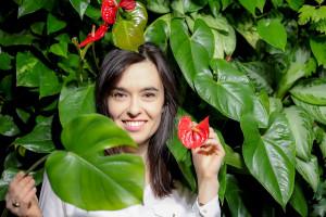 Rośliny mobilizują do kreatywnych działań - rozmowa z Beatą Dziedzic