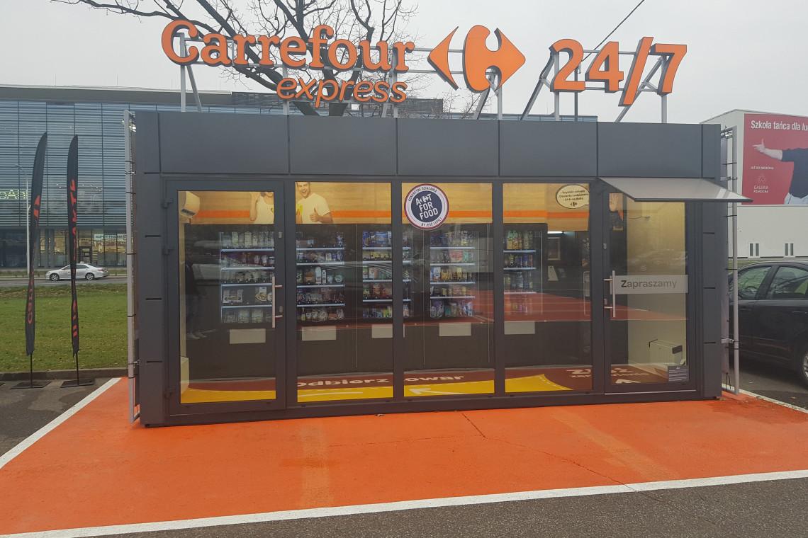 Carrefour uruchamia w Warszawie sklep w pełni samoobsługowy